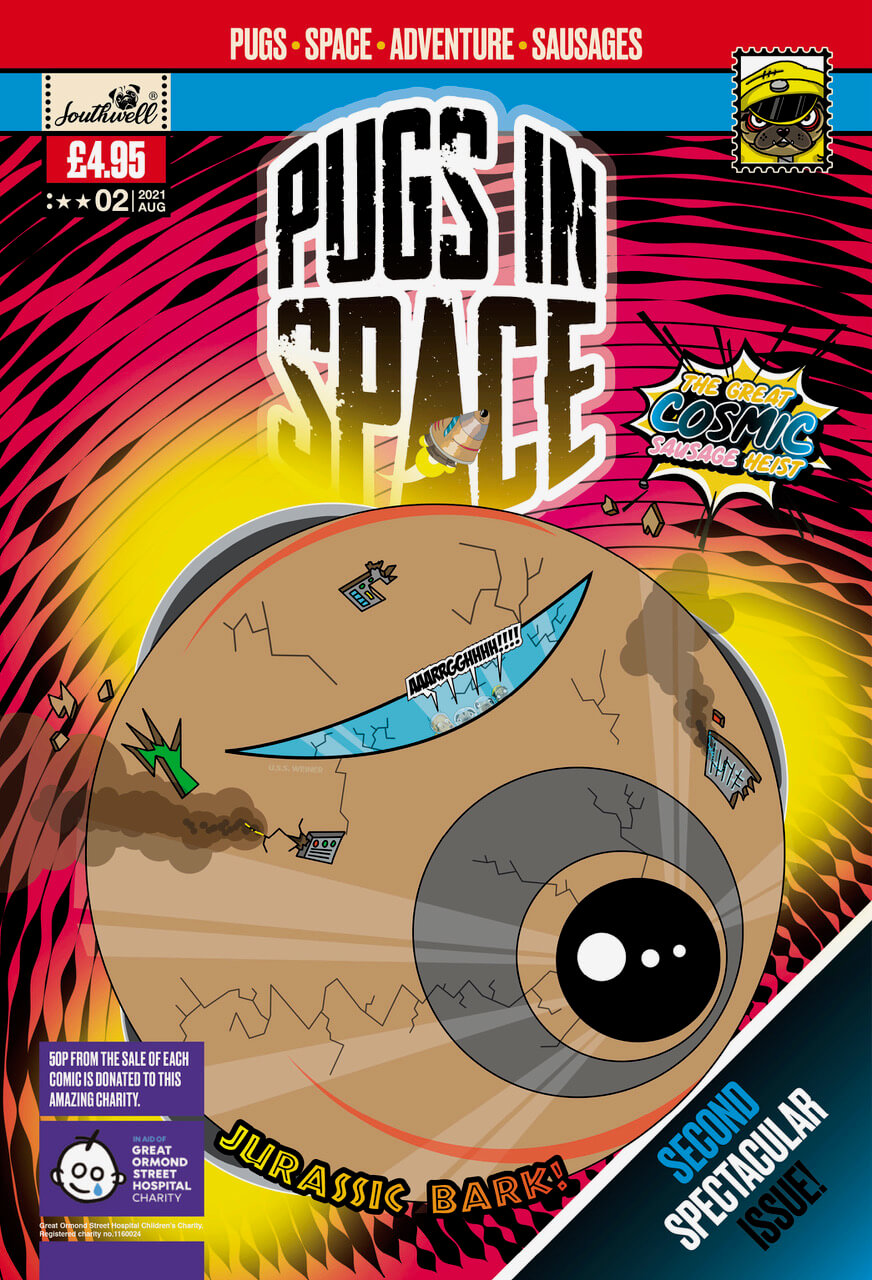 Issue 02 Pugs In Space Cover